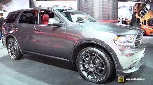 dodge durango interior 2016 2015 dodge durango r t exterior and interior walkaround 2015
