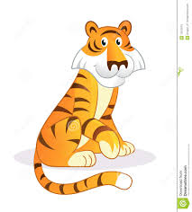 cartoon tiger royalty free stock images image 12013019
