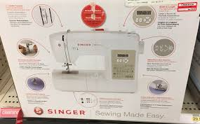 target black friday sewing machine deal target singer sewing machine case 95 shipped my frugal fisher