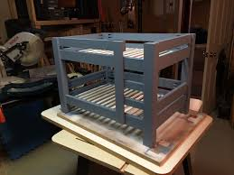 Bunk Bed For Dogs Simple Bunk Bed Plans Few Tools Stock Lumber Woodwork City
