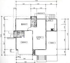 2 bedroom bungalow house floor plan 2 bedroom guest house plans