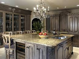 kitchen large kitchen island and granite countertops with
