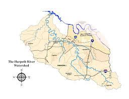cumberland river map harpeth river rivers