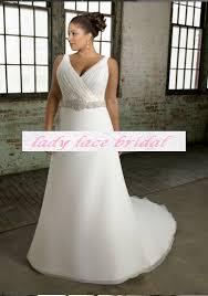 Custom Made Wedding Dress Ivory Organza Ruffle Skirt Mermaid Plus Size Wedding Dress Us
