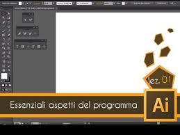 Tutorial Illustrator Italiano | tutorial illustrator ita corso base lez 01 youtube