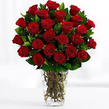 two dozen stemmed flowers