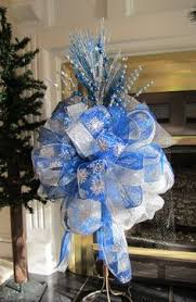 tree topper bow shipping included large luxury
