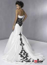 black and white mermaid wedding dresses wedding decorate ideas