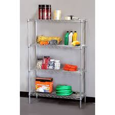 Bathroom Wire Shelving Best Steel Shelving Units U0026 Storage Racks Reviews Findingtop Com