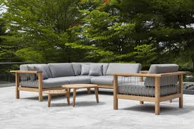 Modern Teak Outdoor Furniture by Contemporary Armchair Teak Club Commercial Maro By Gijs