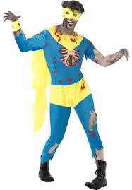 superheroes halloween costumes zombie superhero costume zombie fancy dress escapade uk