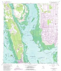 Sanibel Island Map Pine Island Center Topographic Map Fl Usgs Topo Quad 26082e1