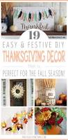 Diy Thanksgiving Table Runner The Chic Site by Simple Diy Thanksgiving Decorations