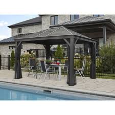 Gazebo Or Pergola by Gazebos Pergolas And Outdoor Enclosures Sam U0027s Club