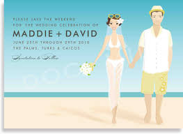 Wedding Invitation Cards Online Template Beach Wedding Invitation Card Invitation Templates