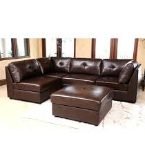 Ottomans Ebay Leather Reversible Sectional And Ottoman Sectionals Leather