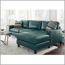 blue sectional sofas finding andersen top grain leather chaise