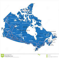 A Map Of Canada by Political Map Of Canada Royalty Free Stock Photography Image