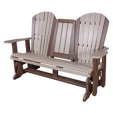 Outdoor Glider Loveseat Amish Outdoor Polyvinyl Amish Furniture Shipshewana Furniture Co