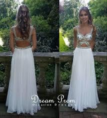 pretty graduation dresses pretty white sweetheart backless chiffon prom dress evening