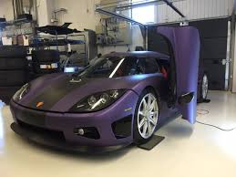 regera koenigsegg koenigsegg regera transformed into purple prince tribute maxim