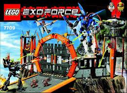Lego Headquarters Lego Sentai Headquarters Instructions 7709 Exo Force