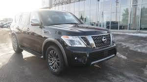 nissan armada 2018 interior nissan armada in edmonton ab west end nissan