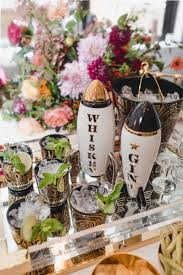 fall cocktail party black twine