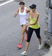 Torrie Wilson Thong - stacy keibler and torrie wilson enjoy a workout during italian