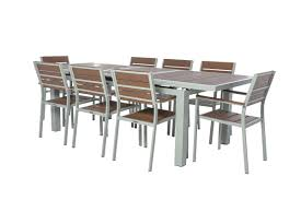 marvelous extendable dining room table red 9 piece set homewhiz