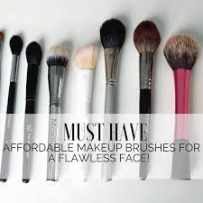affordable makeup must makeup affordable brush list to apply your makeup