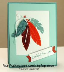 four feathers st set card ideas patty s sting spot