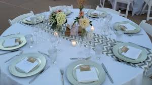 Table Runners For Round Tables Table Runner On Round Table Wedding Starrkingschool