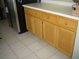 restaining oak kitchen cabinets light brown birch wood kitchen cabinet with several drawers using