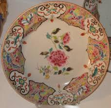 assiette de porcelaine assiette en porcelaine de chine d u0027époque xviii eme siècle