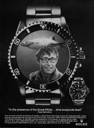 Peter Benchely - bamboo trading peter benchley writer of movie jaws for 1975 rolex