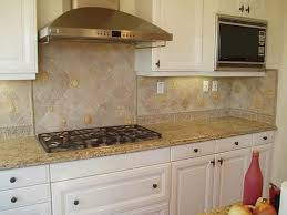 tumbled marble kitchen backsplash backsplash designs random pattern utilizes tumbled marble