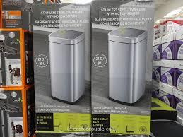 Large Kitchen Garbage Can Sensible Eco Living Motion Sensor Trash Can