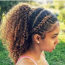 hairstyles plaited children 50 cute natural hairstyles for afro textured hair hair motive