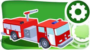 monster trucks races cartoon cars car cartoons for kids fire truck racing cars monster truck