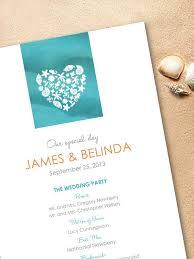 Printed Wedding Programs Wedding Program Inclusions Anna Maria Muscarella Geehan