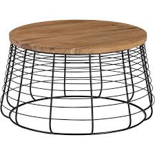 round wood and metal end table awesome metal coffee tables and end round regarding table designs 10