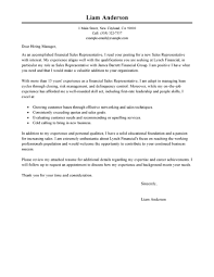 Cover Letter For Internship In Finance by Best Sales Representative Cover Letter Examples Livecareer