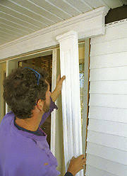 Vinyl Door Trim Exterior This Article Explains How To Install Vinyl Siding So That It Looks
