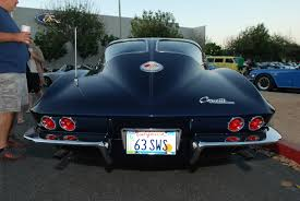 what year was the split window corvette made what s blue or black and wears a split window out back digitaldtour