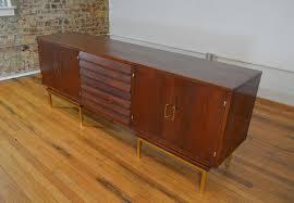 American Of Martinsville Bedroom Furniture Merton Gershun For American Of Martinsville Walnut And Brass