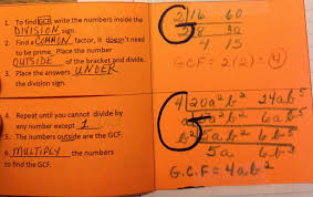 Finding Gcf And Lcm Worksheets Equation Freak Does The Upside Down Division Method Work For
