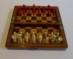 travel chess set images Antique english mahogany travel chess set c 1880 279844 jpg