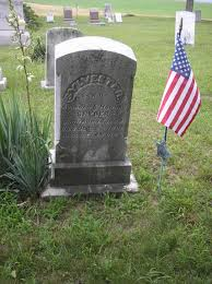 Grave Marker Flags Civil War Blog Was Sylvester Snyder Buried At Berrysburg A