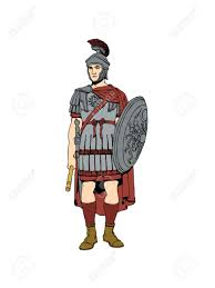 the 1st century roman soldier in armour stock photo picture and